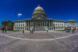 アメリカ合衆国議会議事堂(United States Capitol)の写真素材 [FYI04486936]