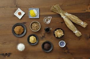発酵食品の集合の写真素材 [FYI04487075]
