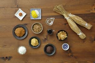 発酵食品の集合の写真素材 [FYI04487076]