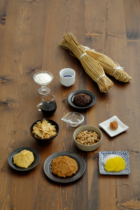 発酵食品の集合の写真素材 [FYI04487077]