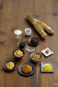 発酵食品の集合の写真素材 [FYI04487078]