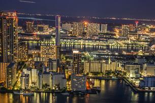 カレッタ汐留からの東京の夜景の写真素材 [FYI04487165]