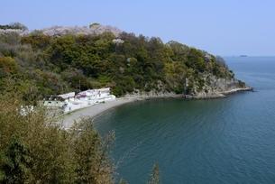 赤穂御崎,福浦海水浴場の写真素材 [FYI04487205]