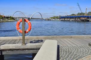 オーストラリア・西オーストラリア州のパースシティのスワン・リバー周囲の光景の写真素材 [FYI04487353]