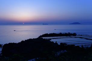 海と日の出の写真素材 [FYI04487594]