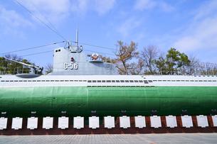 S56潜水艦博物館 ウラジオストクの写真素材 [FYI04487660]