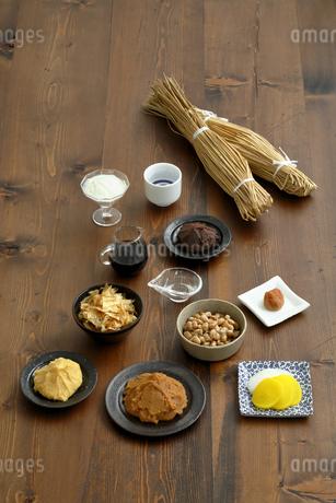 発酵食品の集合の写真素材 [FYI04487829]