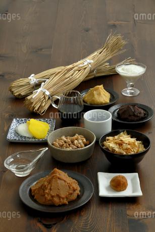 発酵食品の集合の写真素材 [FYI04487831]