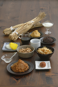 発酵食品の集合の写真素材 [FYI04487832]