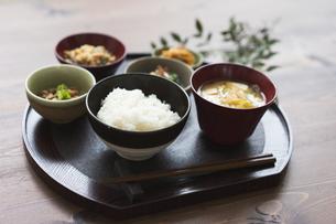 ご飯と和食の写真素材 [FYI04487840]
