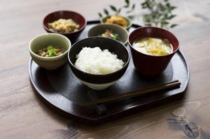 ご飯と和食の写真素材 [FYI04487841]