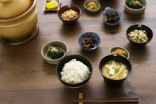 ご飯と和食の写真素材 [FYI04487844]