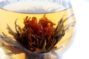 工芸茶 Blooming Flower Teaの写真素材 [FYI04487879]