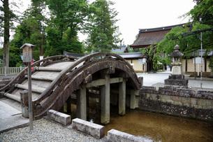 多賀大社太鼓橋の写真素材 [FYI04487956]