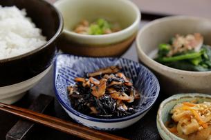 副菜のひじき煮の写真素材 [FYI04487989]