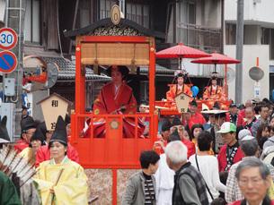 中山道赤坂宿祭りの写真素材 [FYI04488095]