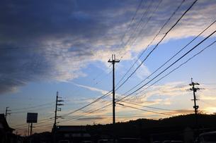 夕空の写真素材 [FYI04488120]