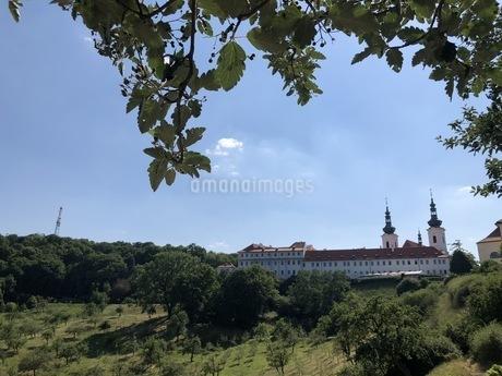 ストラホフ修道院 図書館の写真素材 [FYI04488752]