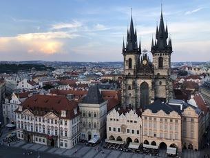 プラハの写真素材 [FYI04488771]