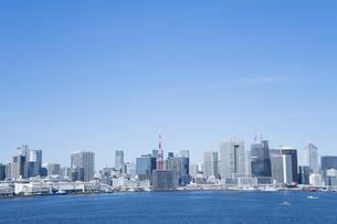 東京のビル群の写真素材 [FYI04489693]