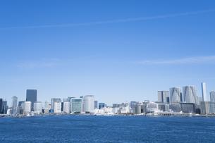 東京のビル群の写真素材 [FYI04489698]