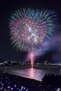 長良川の花火の写真素材 [FYI04489718]