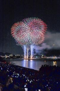 長良川の花火の写真素材 [FYI04489719]