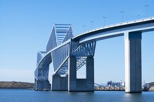 東京ゲートブリッジの写真素材 [FYI04489764]