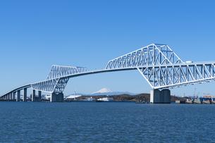 東京ゲートブリッジの写真素材 [FYI04489767]