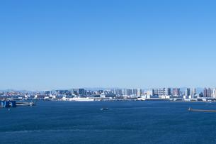東京の街並みの写真素材 [FYI04489827]