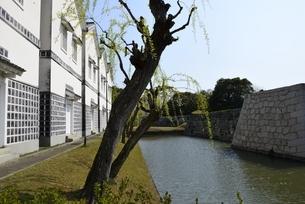 赤穂城跡と歴史博物館の写真素材 [FYI04489837]