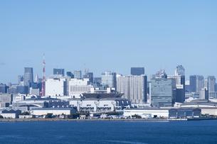東京の街並みの写真素材 [FYI04489851]