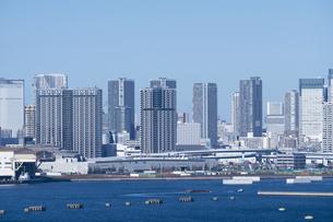 東京の街並みの写真素材 [FYI04489852]