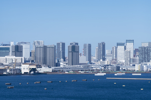 東京の街並みの写真素材 [FYI04489853]
