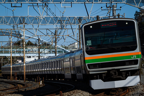 JR東日本E231系電車の写真素材 [FYI04490417]