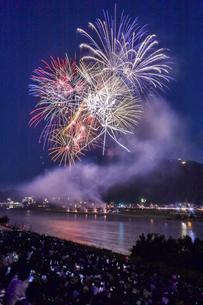 長良川の花火の写真素材 [FYI04490791]