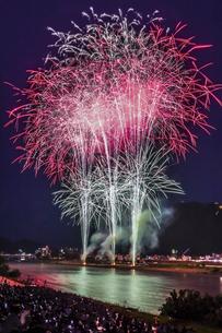 長良川の花火の写真素材 [FYI04490792]