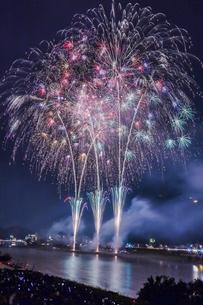 長良川の花火の写真素材 [FYI04490794]