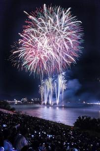 長良川の花火の写真素材 [FYI04490798]