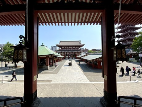 浅草・浅草寺の写真素材 [FYI04491028]