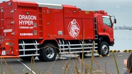 消防車の写真素材 [FYI04491624]