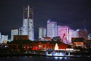 横浜夜景の写真素材 [FYI04492565]