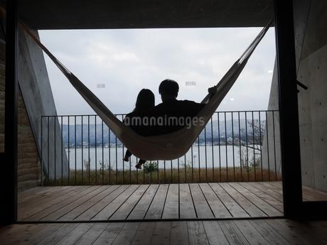 マリーナ琵琶湖からの景色の写真素材 [FYI04492643]