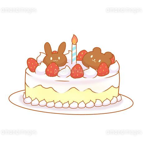 ケーキのイラスト素材 [FYI04493566]