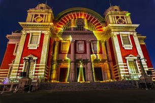 大阪府 大阪中央公会堂 光のルネサンス ウォールタペストリーの写真素材 [FYI04493928]