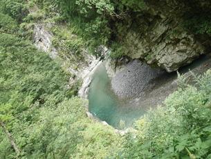 黒部峡谷の写真素材 [FYI04494653]