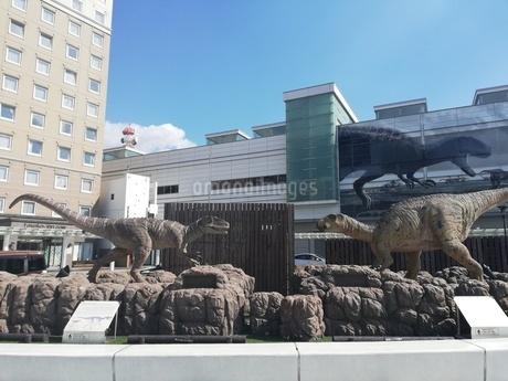 福井駅前の写真素材 [FYI04496674]