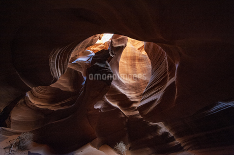 アンテロープキャニオンの峡谷の写真素材 [FYI04498512]