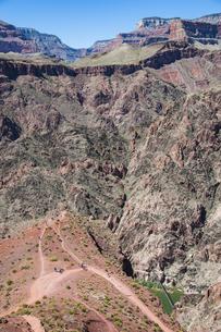 グランドキャニオンとコロラド川の写真素材 [FYI04498549]