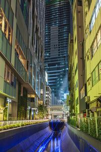 渋谷ストリーム 東京夜景の写真素材 [FYI04499066]